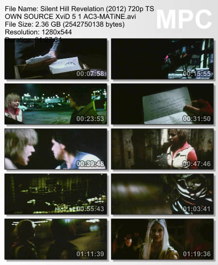 Silent Hill: Revelation (2012) 720p TS OWN SOURCE XviD 5 1 AC3-MATiNE