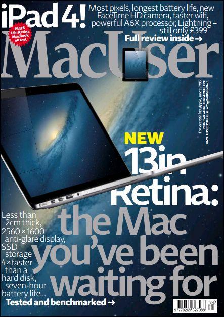 MacUser - 23 November 2012