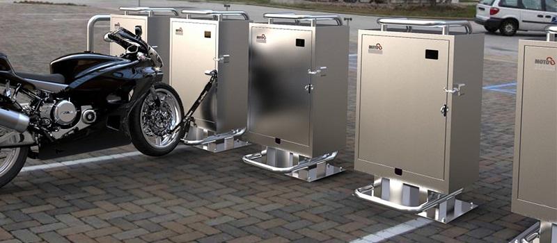 Moto Parking - концепт мотопарковки