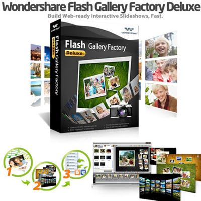 Wondershare Flash Gallery Factory Deluxe 5.2.1.15 (+ Templates)