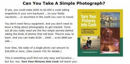 Awai Photography - Turn Your Pictures Into Cash