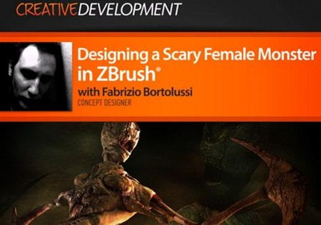 Digital Tutors - Designing a Scary Female Monster in ZBrush