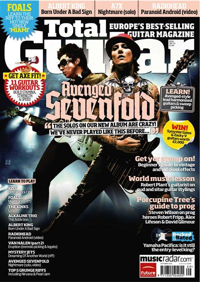 Total Guitar + CD - September 2010
