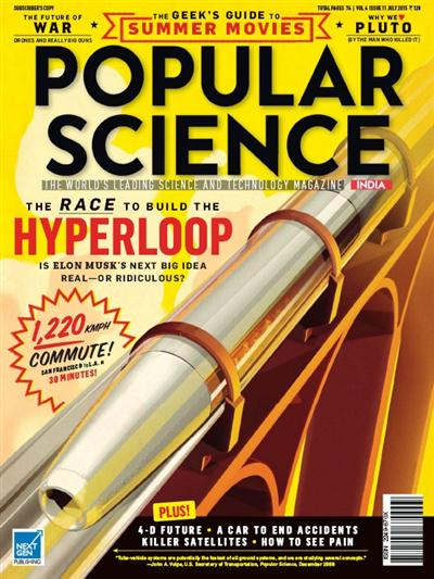 Popular Science India - July 2015