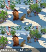 ���������� ������: ���������� ��������� � 3� / Ice Age: A Mammoth Christmas 3D ������������