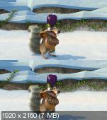 Ледниковый период: Гигантское Рождество в 3Д / Ice Age: A Mammoth Christmas 3D Вертикальная