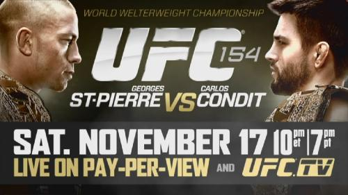 Countdown to UFC 154 St-Pierre vs Condit [2012, MMA, WEBRip]