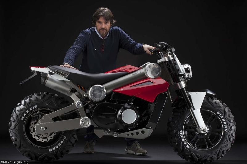 Мотоцикл-вездеход Brutus 750 EI 2013