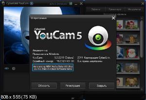 CyberLink YouCam Deluxe 5.0.2219 (2012/Multi)