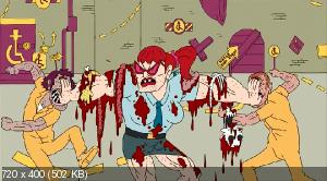 Супертюрьма! [3 сезон] / Тюряга / Superjail! (2012) WEB-DLRip