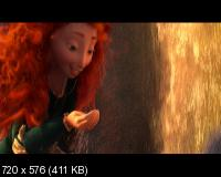 Храбрая сердцем / Brave (2012) DVD9 + DVD5