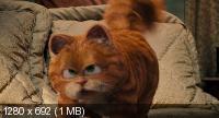 Гарфилд 2: История двух кошечек / Garfield: A Tail of Two Kitties (2006) BluRay CEE + BDRip 1080p / 720p + BDRip