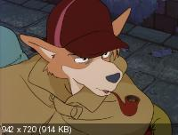 Великий детектив Холмс / Sherlock Hound The Movie / Meitantei Houmuzu (1984) BD Remux + BDRip 1080p / 720p