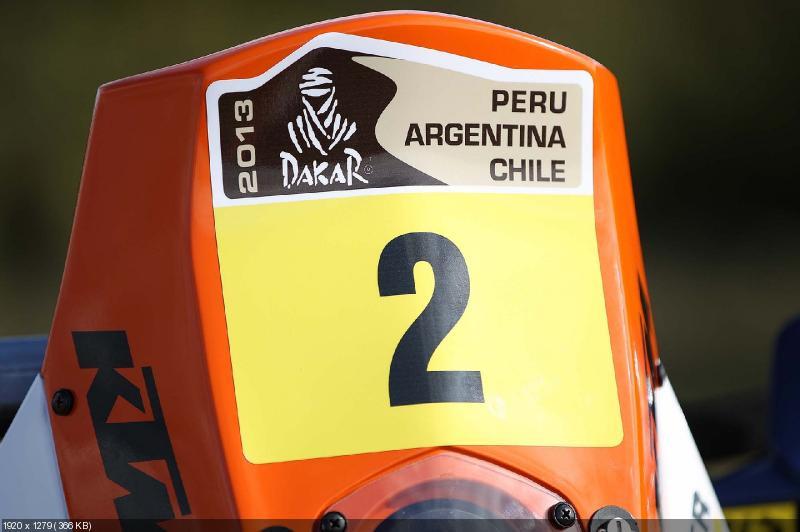 Дакар 2013: качественные фотографии команды KTM