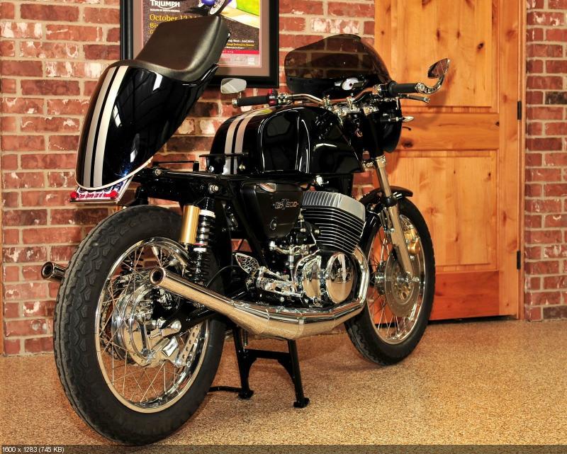 Cycle Sports: Кафе рейсер Suzuki GT500