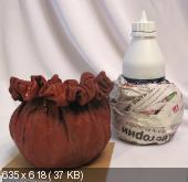 Креативный горшок из ткани Be9e28d0d76f5c2f9b289913c7a5912d