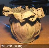 Креативный горшок из ткани Ada2b6950a4d01418e65e7ca4c0291aa