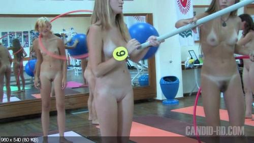 Faster teen nudist workout candid