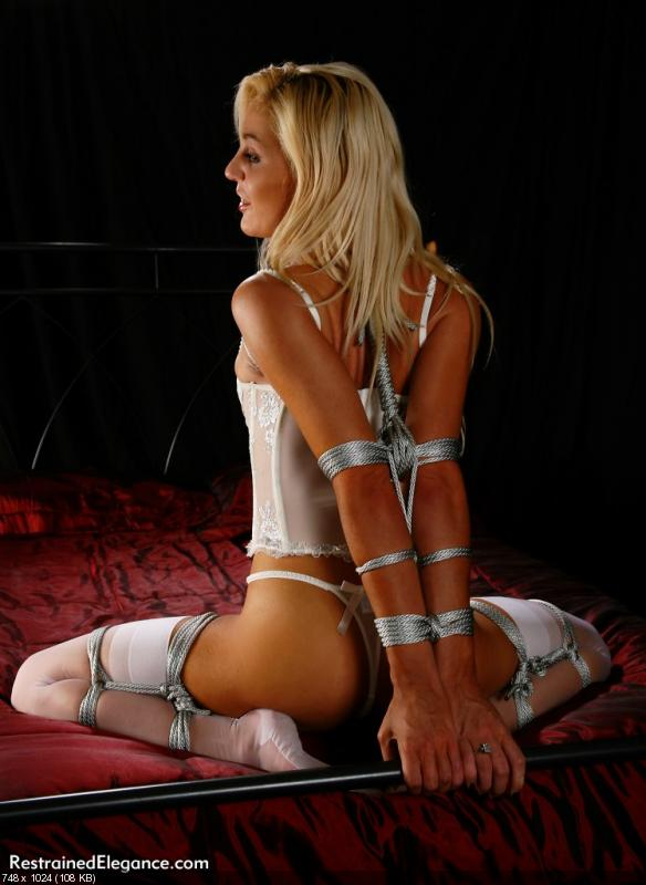 Restrained Elegance Lexicon Of Slavegirl Bondage Poses Youjizz 1