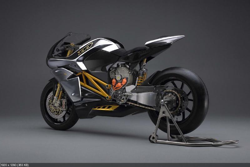 Новый электроцикл Mission R 2014