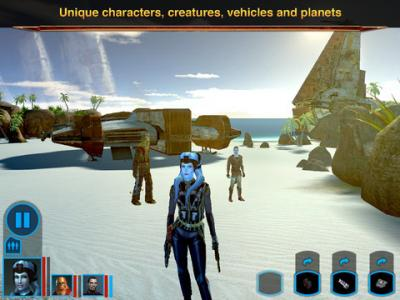 [iPad] Star Wars®: Knights of the Old Republic™ [v1.0, RPG, iOS 6.0, RUS]