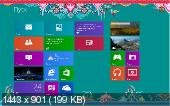 Microsoft Windows 8 Single Language x86 VI-XIII Lite & Small (RUS/2013)