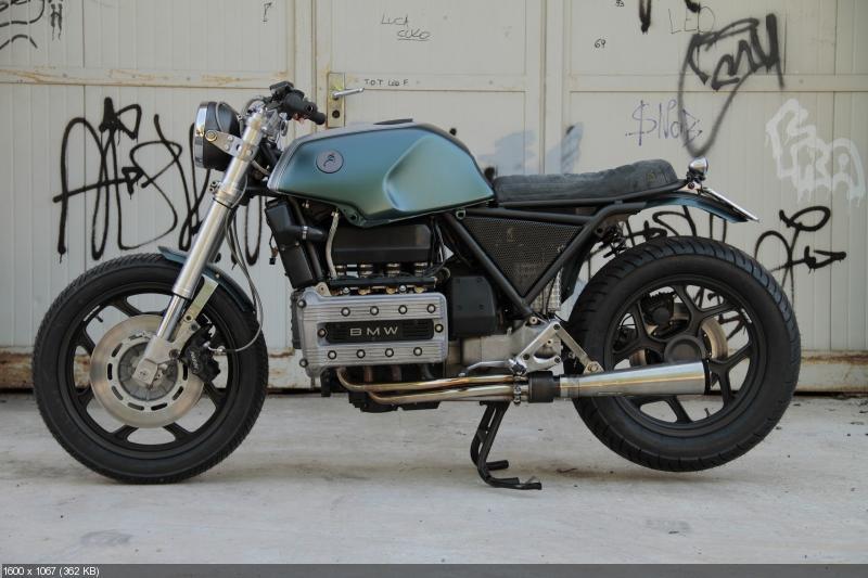 Кастом Tatanka 100 на базе BMW K100