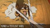 Пёс и Пускающая в ход ножницы / Inu to Hasami wa Tsukaiyou [01-12 из 12] (2013) HDTVRip 720p | AniFilm