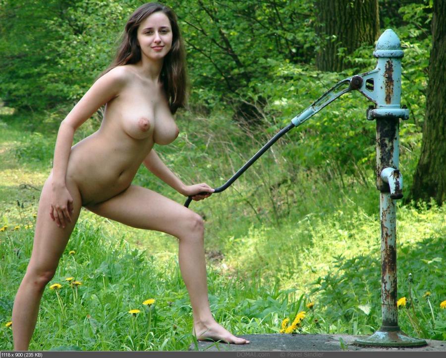 Фото голые деревенские