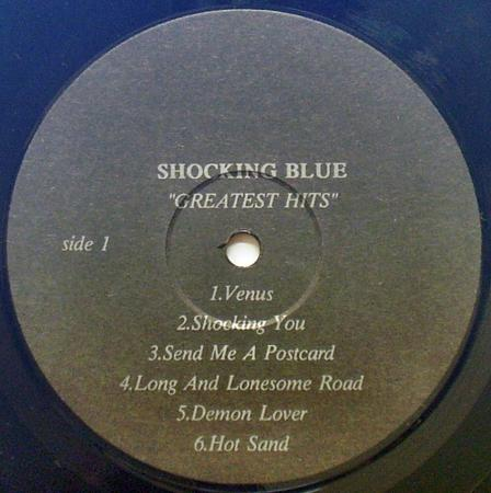 The Shocking Blue-Golden Hits (1990), vinyl-rip