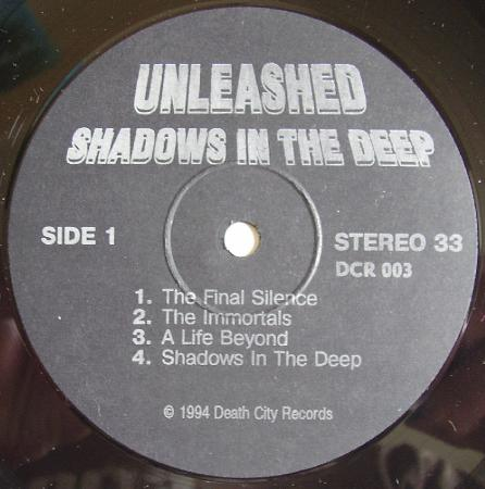 Unleashed - Shadows In The Deep (1994), vinyl-rip