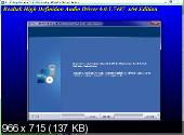Realtek High Definition Audio Drivers 6.0.1.7487 Vista/7/8/8.1 + 5.10.0.7463 XP