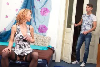 Natali (41) - Hot housewife doing her toyboy (2015) HD 720p