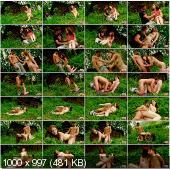 TeenDorf - Karolina - Hot Sex In The Wood With A Cute Redhead Teen [HD 720p]