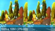 Корабль сокровищ в 3Д / Janosch 3D: Komm, wir finden einen Schatz Горизонтальная анаморфная
