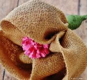 Цветы из мешковины, джута, шпагата Fed113eb5761c7de6f53ff700f3c17d8