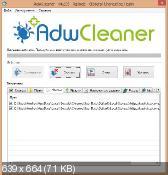 AdwCleaner 4.203 - удаление нежелательных панелей в веб-браузерах