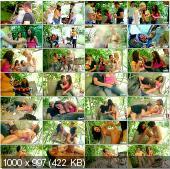 TeenBurg - Violla, Rosa, Laska - The Hot Teen Fucking On Picnic [HD 720p]
