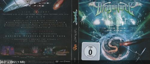 DragonForce - In The Line Of Fire... Larger Than Live (Digipack Ltd. Edition) (2015)
