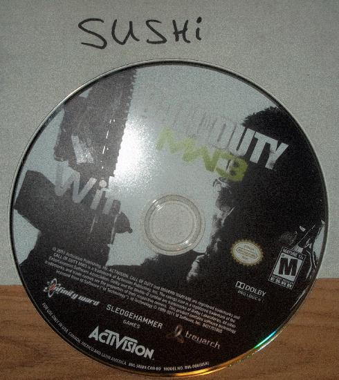 Call of Duty Modern Warface 3 USA WII SUSHi