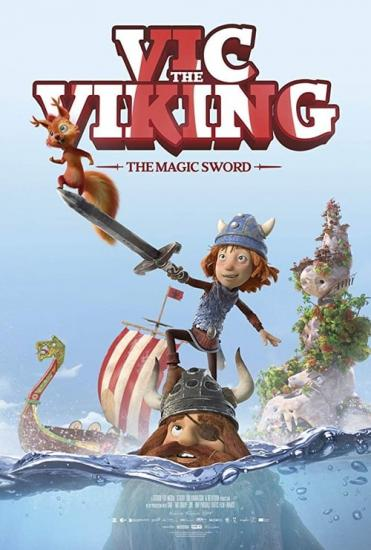 Vic The Viking And The Magic Sword 2019 720p WEBRip 800MB x264-GalaxyRG
